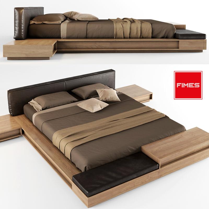 bed cover 3d obj