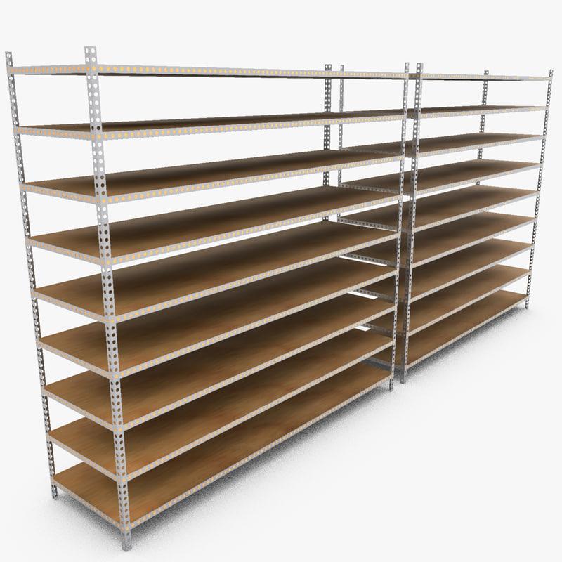 industrial rack 3ds