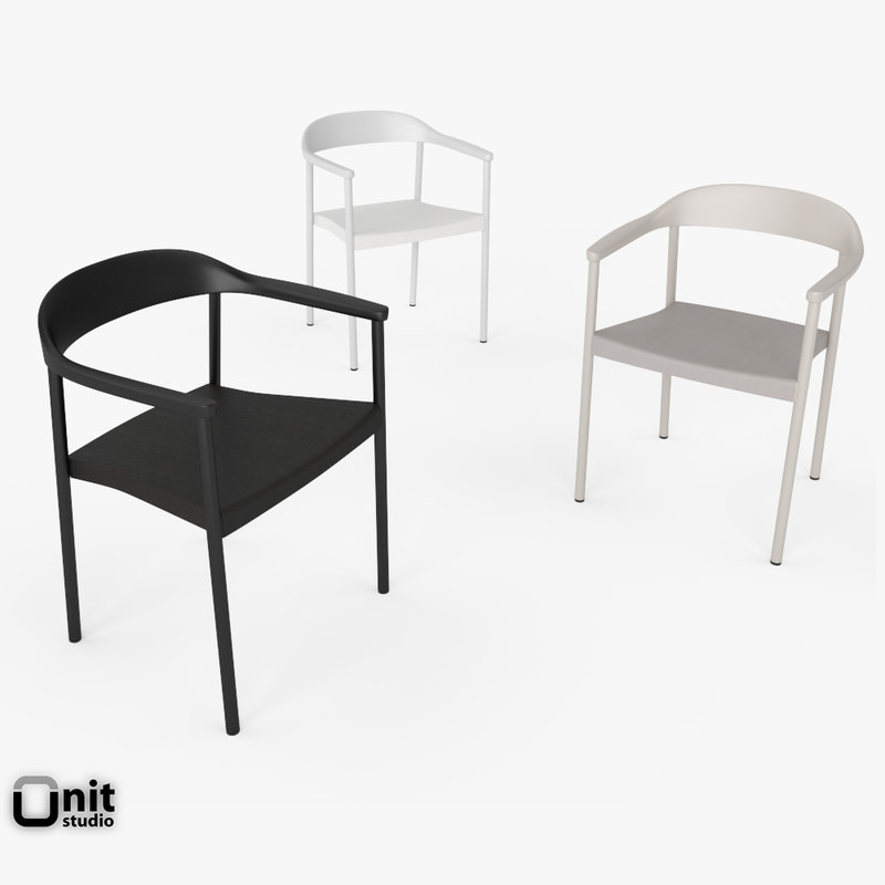 illum armchair furniture 3d model