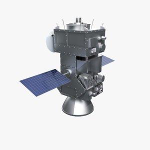 exomars shuttle mars 3d model