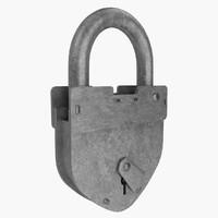 vintage padlock max