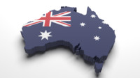 australia flag 3d 3ds