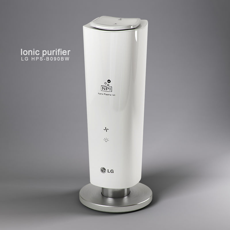 ionic purifier lg 3d model