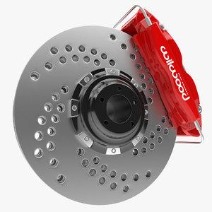 3d brake modelled model