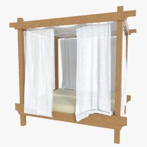 outdoor bed fbx