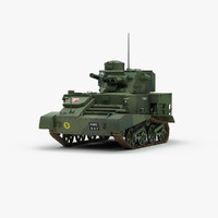 british vickers mk6 light tank 3d 3ds