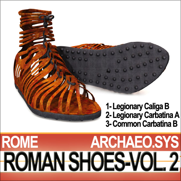 roman shoes vol 2 3d 3ds