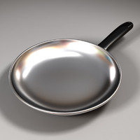 frying pan 3d 3ds