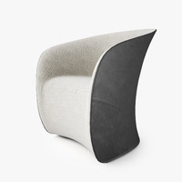 zanotta calla armchair 3d max