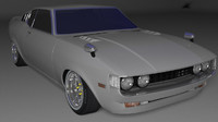 3d model toyota celica