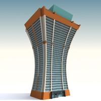 3d cartoon apartment model