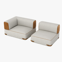 Fendi Soho Sofa Set