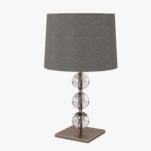 3d neptune burlington lamp light model