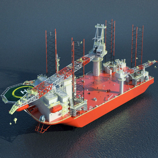 x heavy lift installation vessel