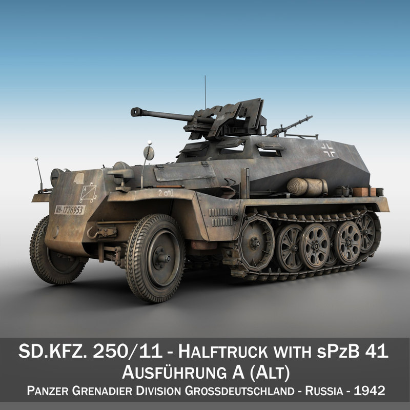 sd kfz 250 11 3ds