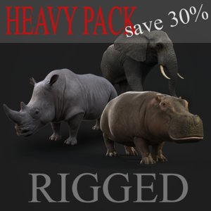 max heavy animals rig pack