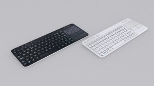 logitech wireless k400 keyboard 3d max