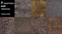 Soil seamless textures pack