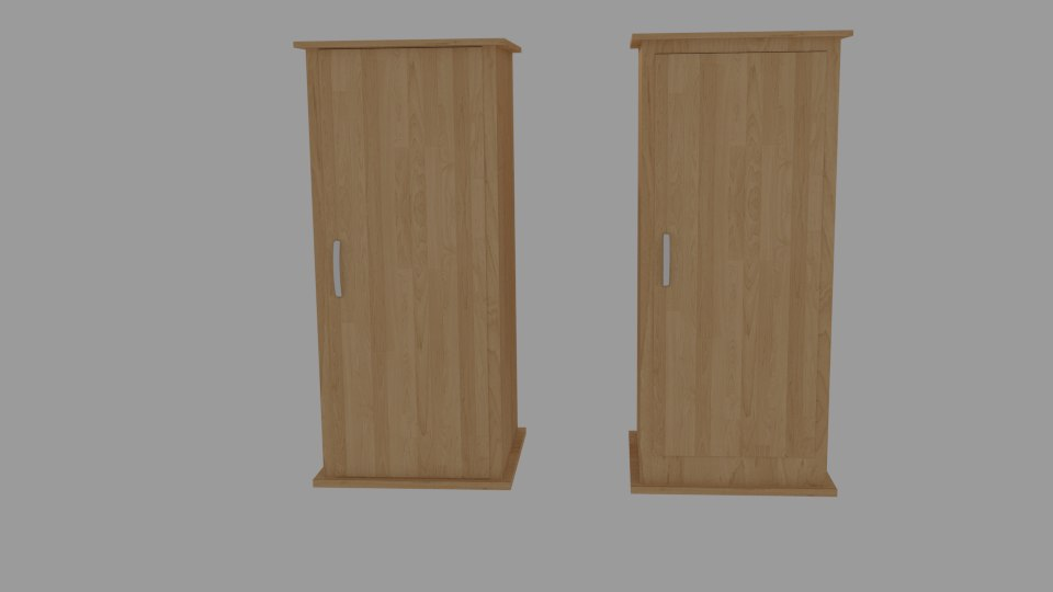 3d model wardrobe storage