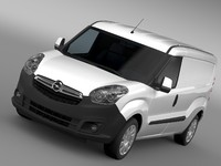 opel combo lwb cargo 3d max