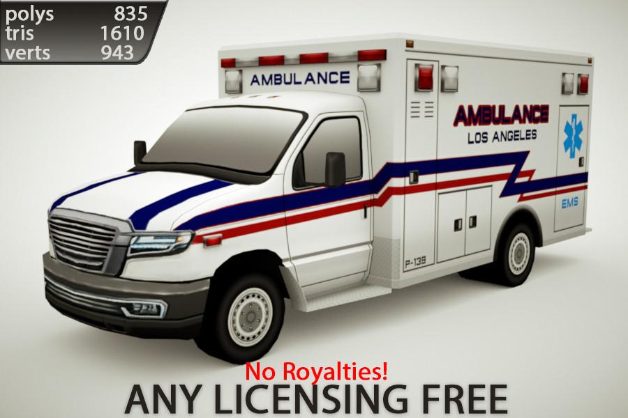 3d generic ambulance v1