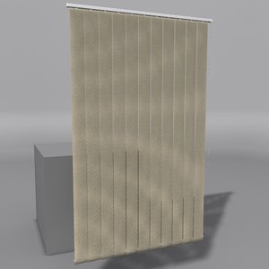 vertical blinds 3d 3ds