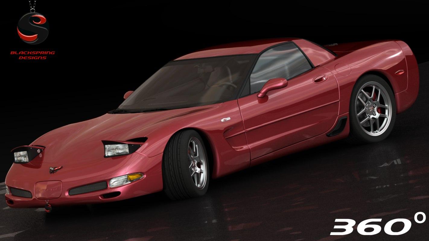chevrolet corvette z06 2002 obj