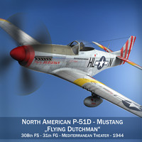 North American P-51D - Flying Dutchman