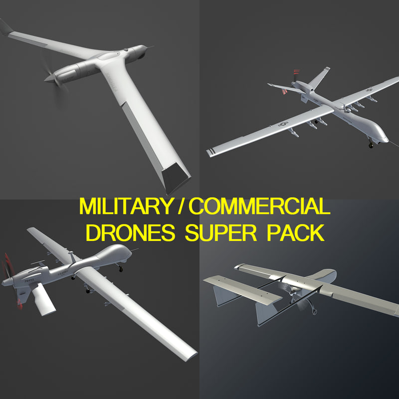 3d military commercial model