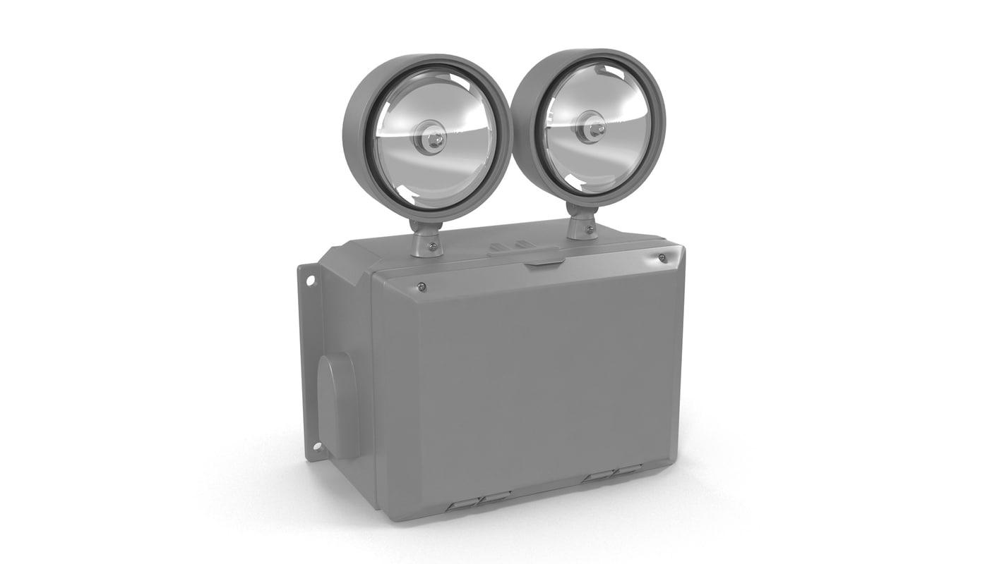 light waterproof emergency 3d model