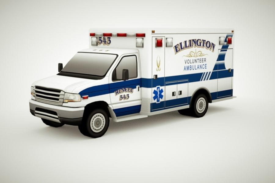 3d generic ambulance v3