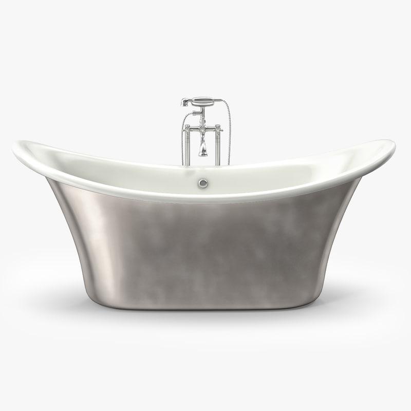 3d apollo standing bath tub