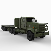 M915A5 Truck with Flatbed