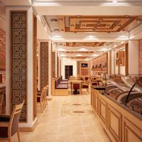 max restaurant interior v1