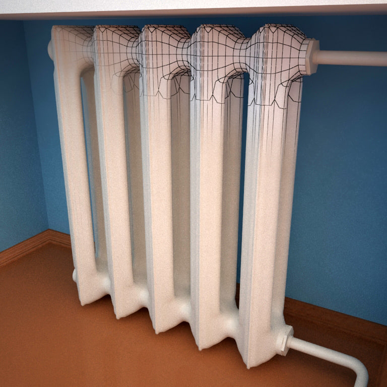 ussr heat radiator max