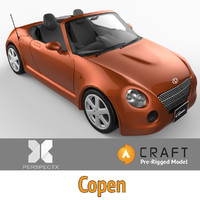 Copen Convertible Pre-Rigged for Craft Director Tools