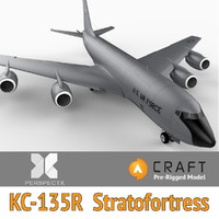KC-135R Stratotanker Pre-Rigged for Craft Director Studio