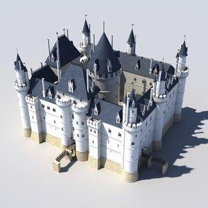 medieval louvre 3d model