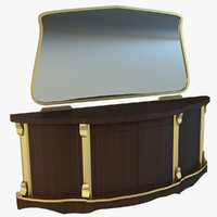 3d old drawers model