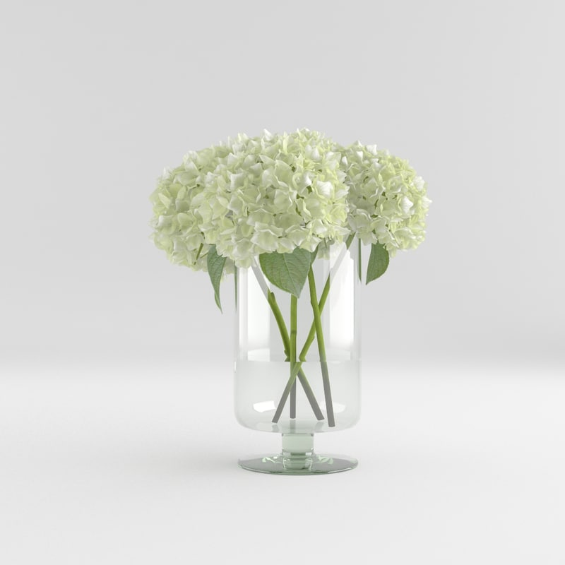 flower glass vase max