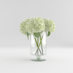 flower glass vase max