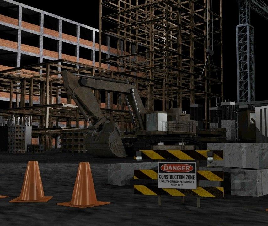 construction set 3d model