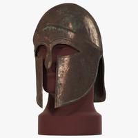 3d corinthian helmet