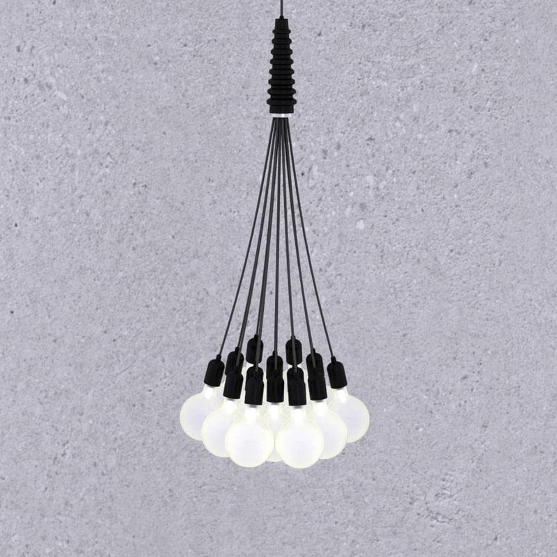 light pendant lamp 3d model