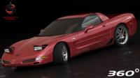 3d model chevrolet corvette z06 2002