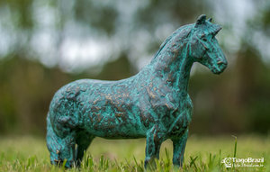 3d model bronze horse sculpture