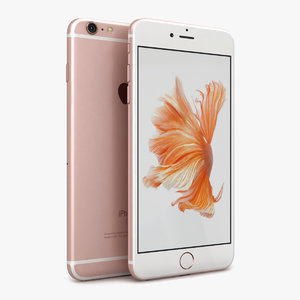 3ds apple iphone 6s rose