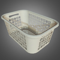 Laundro Basket - PBR Game Ready