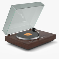 record player 3d max