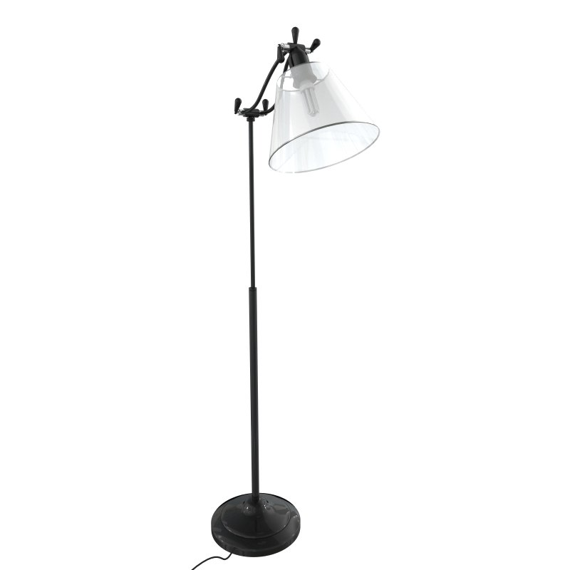 max tall black lamp
